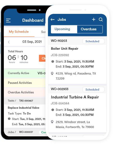 FieldCircle Mobile Screenshot