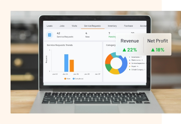 FieldCircle Revenue Dashboard